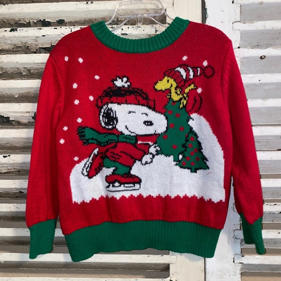 Peanuts Snoopy Christmas Adorable Sweater